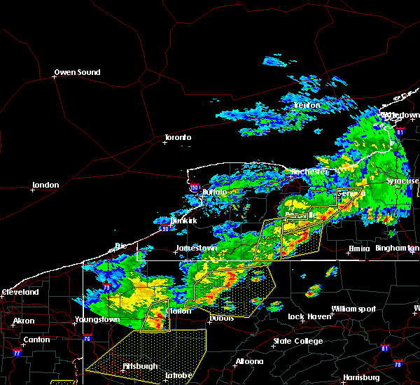 Radar Image for Severe Thunderstorms near Stannards, NY at 6/12/2015 6:11 PM EDT