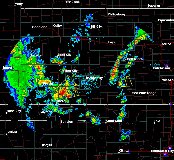 Radar Image for Severe Thunderstorms near Byers, KS at 5/18/2019 5:08 PM CDT