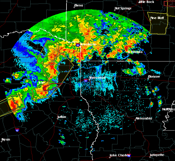Radar Image for Severe Thunderstorms near Overton, TX at 5/18/2019 6:20 PM CDT