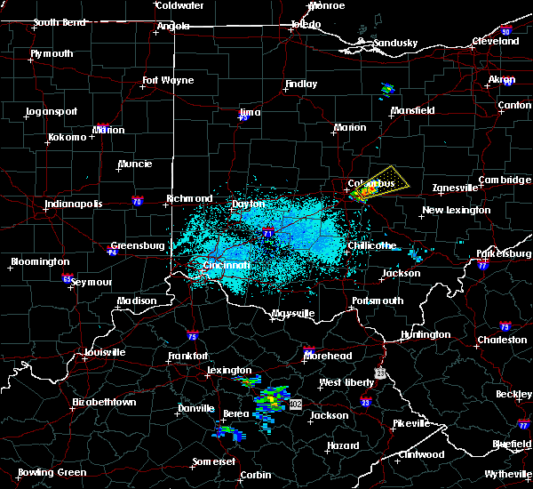 Radar Image for Severe Thunderstorms near Pickerington, OH at 5/18/2019 8:17 PM EDT