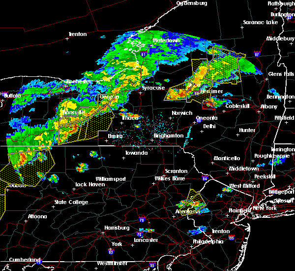 Radar Image for Severe Thunderstorms near Addison, NY at 6/12/2015 6:21 PM EDT