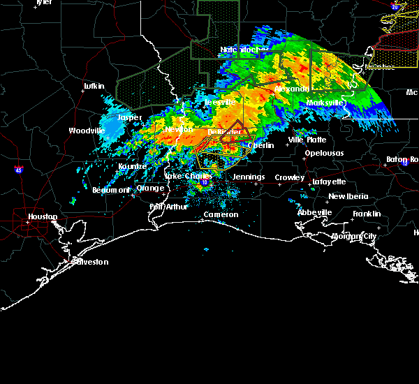 Radar Image for Severe Thunderstorms near Oberlin, LA at 5/19/2019 4:26 AM CDT