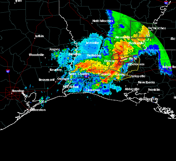 Radar Image for Severe Thunderstorms near Crowley, LA at 5/19/2019 6:01 AM CDT