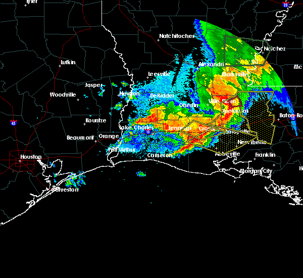 Radar Image for Severe Thunderstorms near St. Martinville, LA at 5/19/2019 6:35 AM CDT