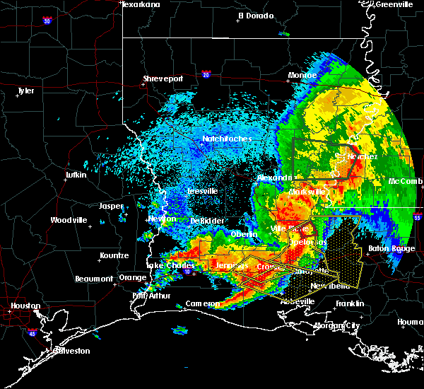 Radar Image for Severe Thunderstorms near Palmetto, LA at 5/19/2019 6:36 AM CDT