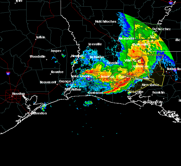 Radar Image for Severe Thunderstorms near Crowley, LA at 5/19/2019 6:44 AM CDT