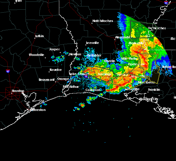 Radar Image for Severe Thunderstorms near Milton, LA at 5/19/2019 7:05 AM CDT