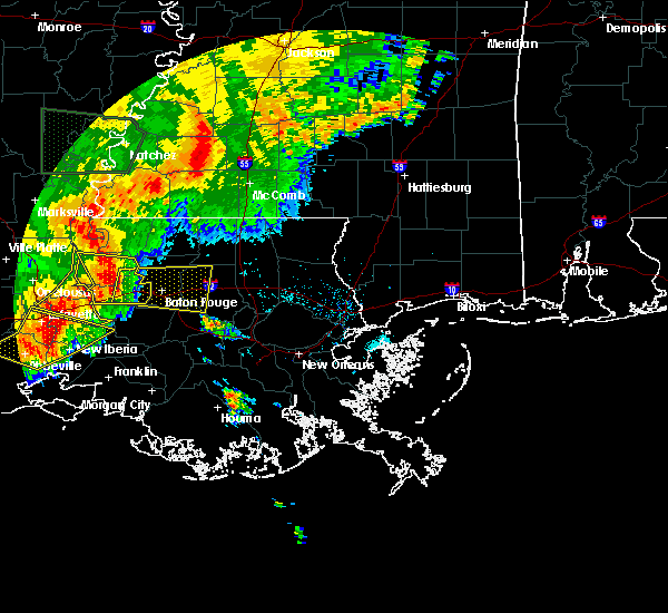 Radar Image for Severe Thunderstorms near Brusly, LA at 5/19/2019 7:14 AM CDT