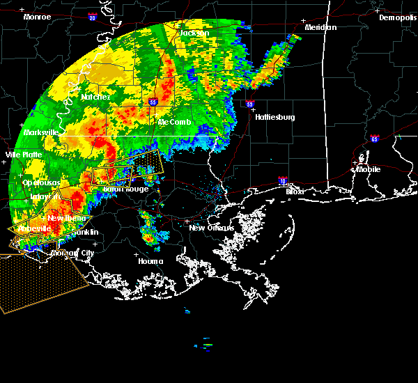 Radar Image for Severe Thunderstorms near Baton Rouge, LA at 5/19/2019 8:07 AM CDT