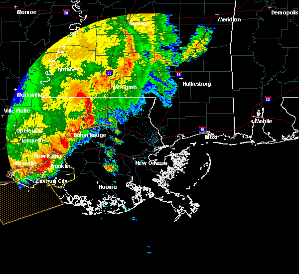 Radar Image for Severe Thunderstorms near Independence, LA at 5/19/2019 8:21 AM CDT