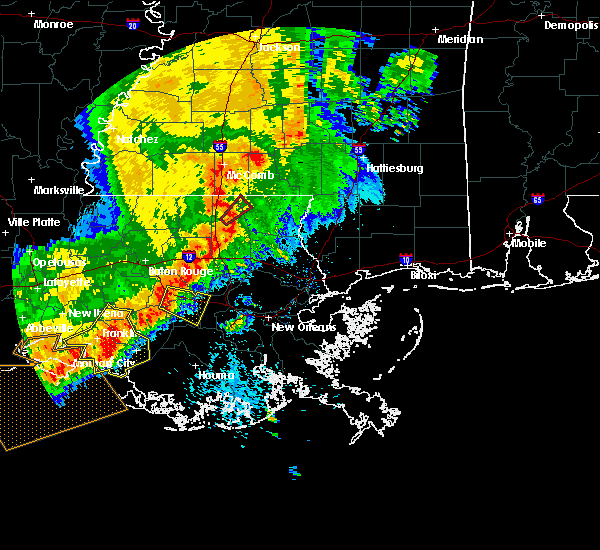 Radar Image for Severe Thunderstorms near South Vacherie, LA at 5/19/2019 9:07 AM CDT