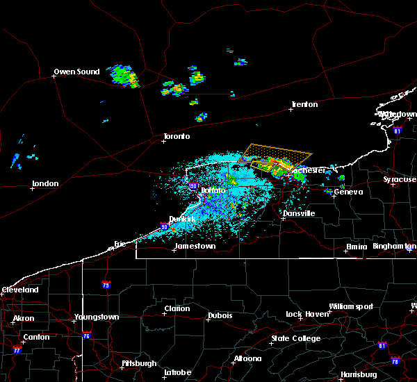 Radar Image for Severe Thunderstorms near Clarkson, NY at 5/19/2019 12:11 PM EDT