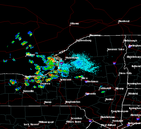 Radar Image for Severe Thunderstorms near Clyde, NY at 5/19/2019 1:48 PM EDT