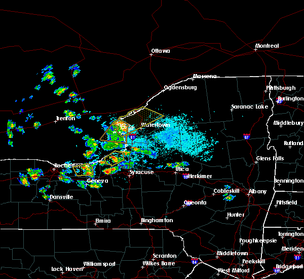 Radar Image for Severe Thunderstorms near Oxbow, NY at 5/19/2019 1:55 PM EDT