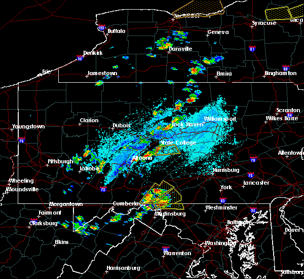 Radar Image for Severe Thunderstorms near State College, PA at 5/19/2019 3:10 PM EDT