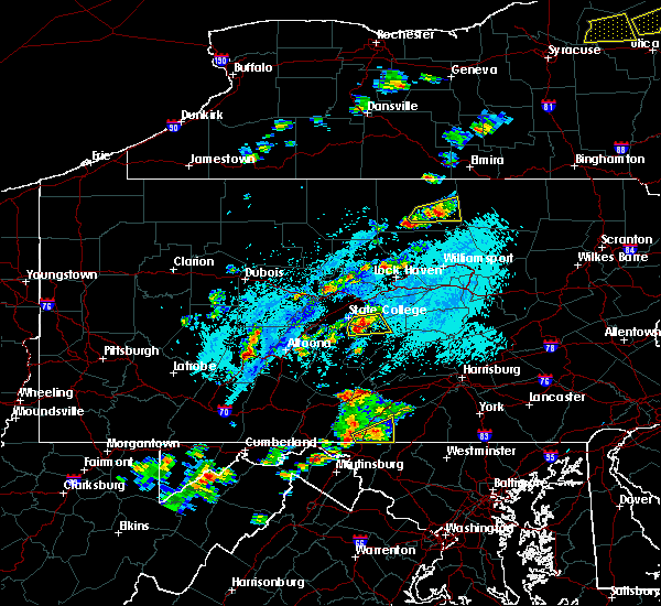 Radar Image for Severe Thunderstorms near Barrville, PA at 5/19/2019 3:34 PM EDT