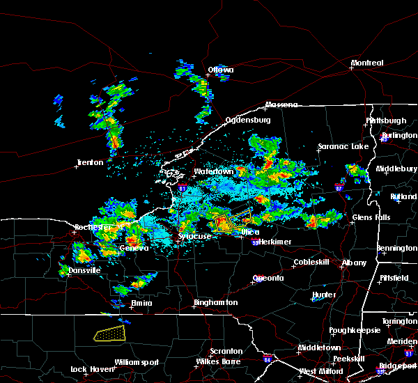 Radar Image for Severe Thunderstorms near Rome, NY at 5/19/2019 3:37 PM EDT