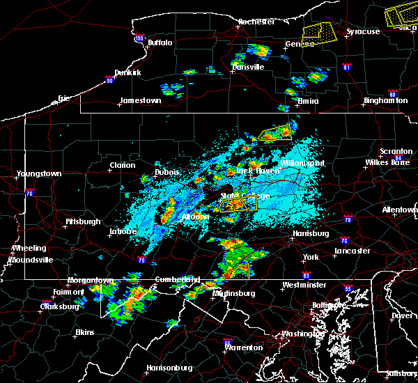 Radar Image for Severe Thunderstorms near Barrville, PA at 5/19/2019 3:45 PM EDT