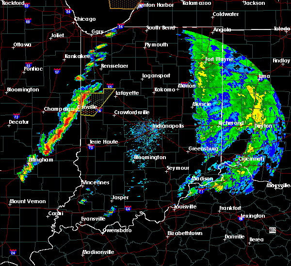 Radar Image for Severe Thunderstorms near Otterbein, IN at 5/19/2019 3:58 PM EDT