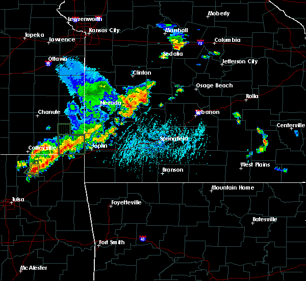 Radar Image for Severe Thunderstorms near Gerster, MO at 6/12/2015 5:35 PM CDT