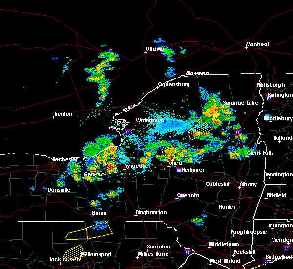 Radar Image for Severe Thunderstorms near Holland Patent, NY at 5/19/2019 4:03 PM EDT