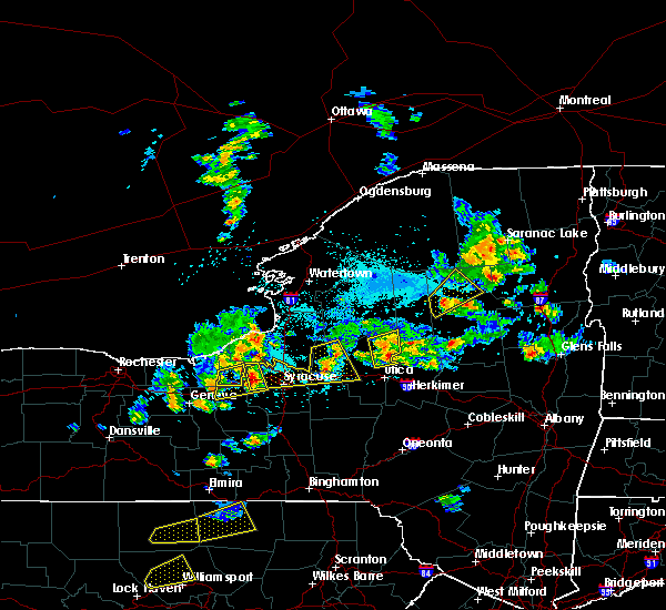 Radar Image for Severe Thunderstorms near Verona, NY at 5/19/2019 4:07 PM EDT