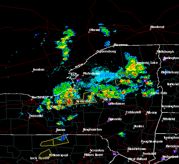 Radar Image for Severe Thunderstorms near Meridian, NY at 5/19/2019 4:09 PM EDT