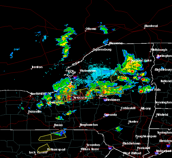 Radar Image for Severe Thunderstorms near Cold Brook, NY at 5/19/2019 4:16 PM EDT