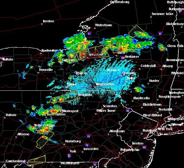 Radar Image for Severe Thunderstorms near Greens Landing, PA at 5/19/2019 4:17 PM EDT