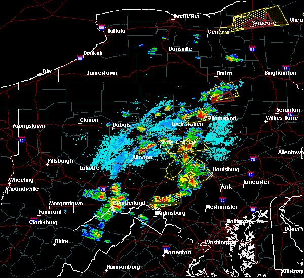 Radar Image for Severe Thunderstorms near New Cumberland, PA at 5/19/2019 4:26 PM EDT