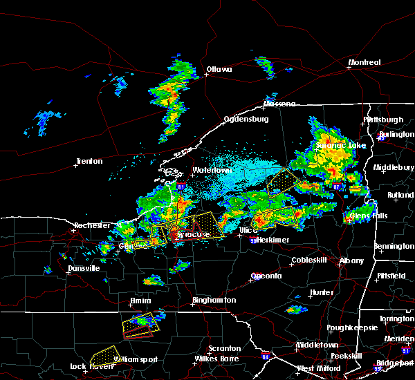 Radar Image for Severe Thunderstorms near Syracuse, NY at 5/19/2019 4:31 PM EDT