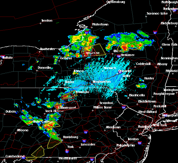 Radar Image for Severe Thunderstorms near Burlington, PA at 5/19/2019 4:39 PM EDT