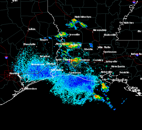 Radar Image for Severe Thunderstorms near Lake Charles, LA at 5/19/2019 3:43 PM CDT