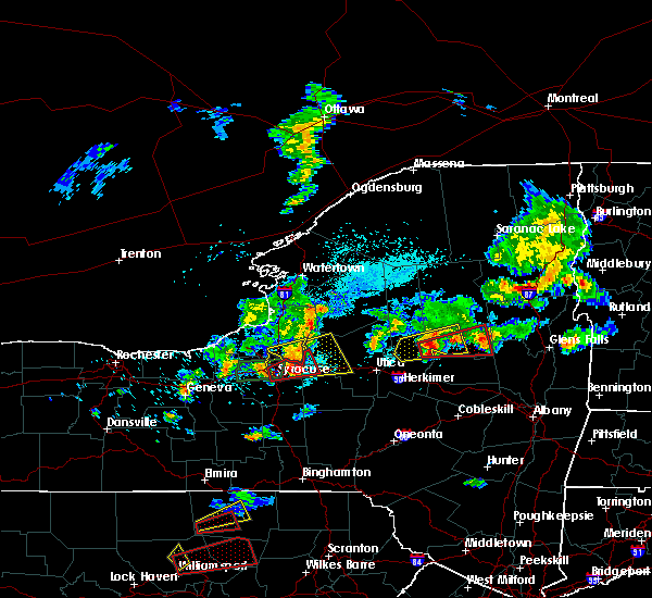 Radar Image for Severe Thunderstorms near Verona, NY at 5/19/2019 4:48 PM EDT