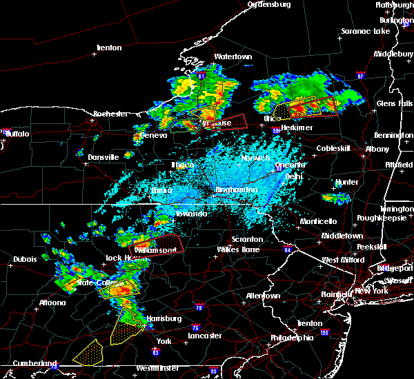 Radar Image for Severe Thunderstorms near Wyalusing, PA at 5/19/2019 4:49 PM EDT