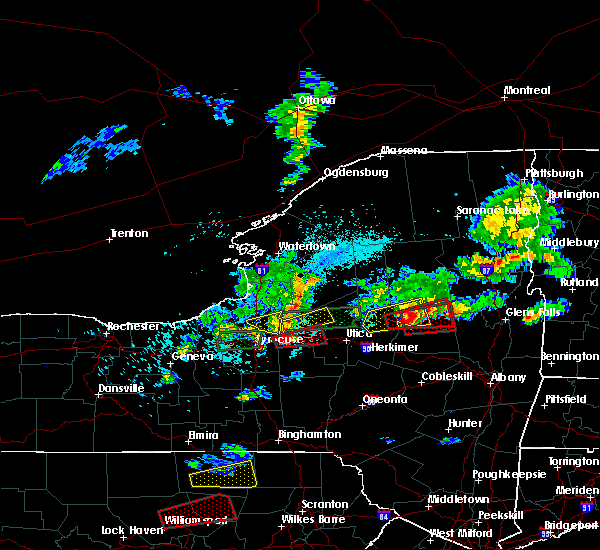 Radar Image for Severe Thunderstorms near Rome, NY at 5/19/2019 4:56 PM EDT