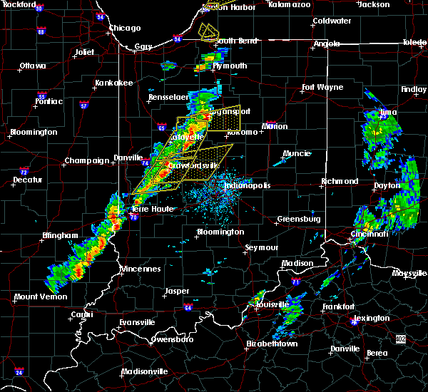 Radar Image for Severe Thunderstorms near Whitestown, IN at 5/19/2019 5:14 PM EDT