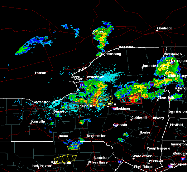 Radar Image for Severe Thunderstorms near Verona, NY at 5/19/2019 5:17 PM EDT
