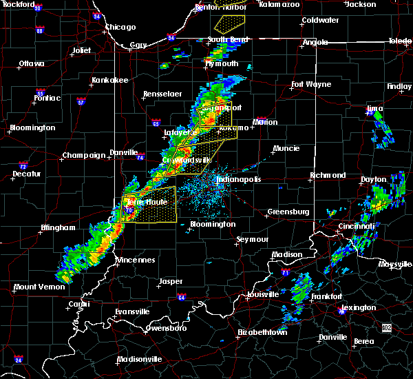 Radar Image for Severe Thunderstorms near Whitestown, IN at 5/19/2019 5:33 PM EDT