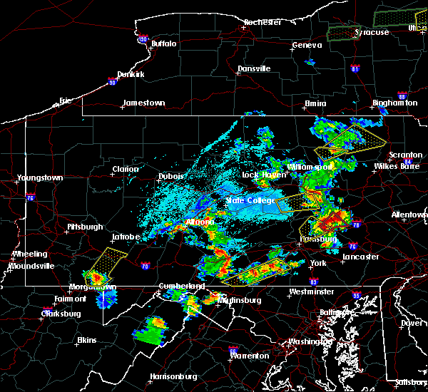 Radar Image for Severe Thunderstorms near Newtown, PA at 5/19/2019 5:40 PM EDT