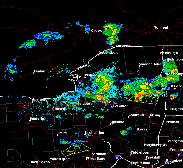 Radar Image for Severe Thunderstorms near Holland Patent, NY at 5/19/2019 5:41 PM EDT