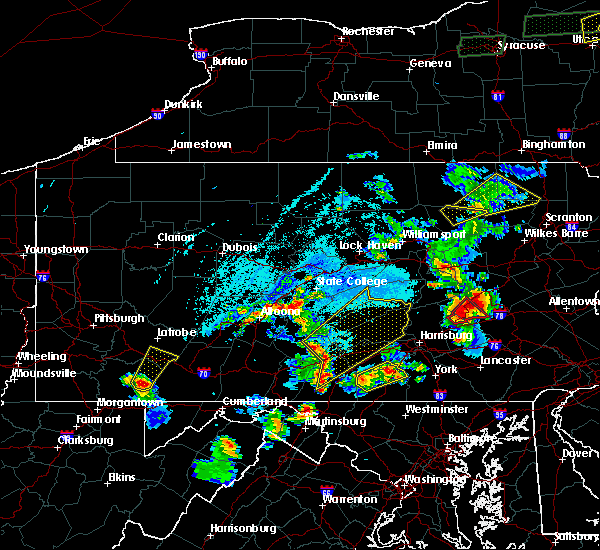Radar Image for Severe Thunderstorms near Orrstown, PA at 5/19/2019 5:48 PM EDT