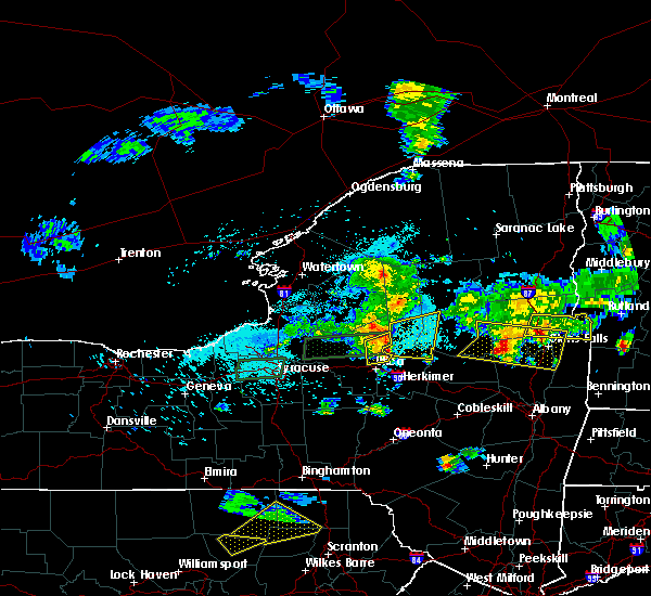 Radar Image for Severe Thunderstorms near Cold Brook, NY at 5/19/2019 5:51 PM EDT