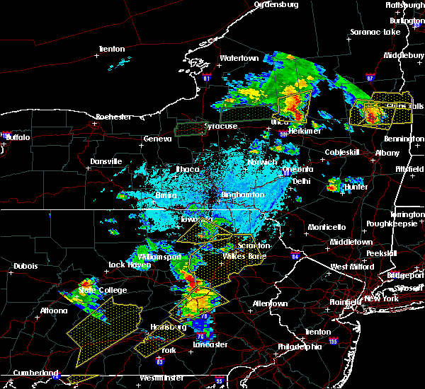 Radar Image for Severe Thunderstorms near Sugar Notch, PA at 5/19/2019 6:12 PM EDT