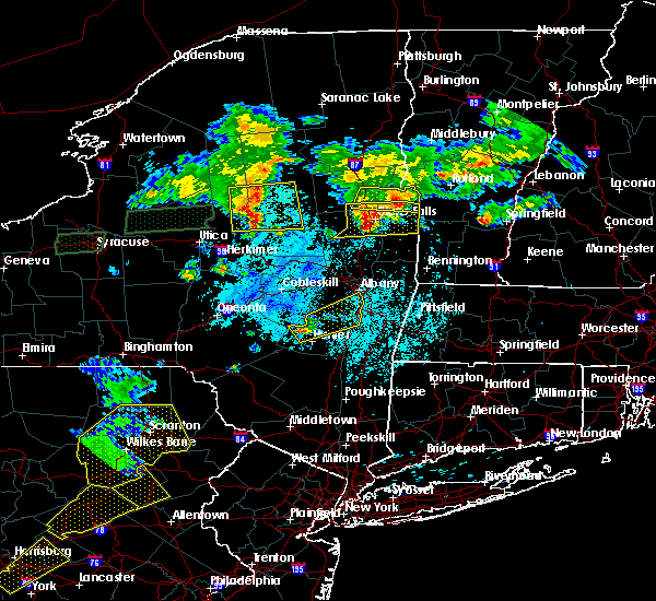 Radar Image for Severe Thunderstorms near Albany, NY at 5/19/2019 6:23 PM EDT