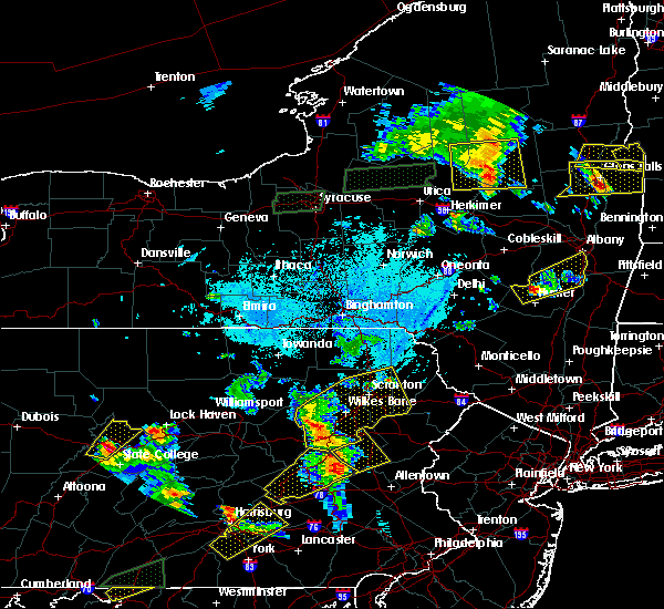 Radar Image for Severe Thunderstorms near Sugar Notch, PA at 5/19/2019 6:31 PM EDT