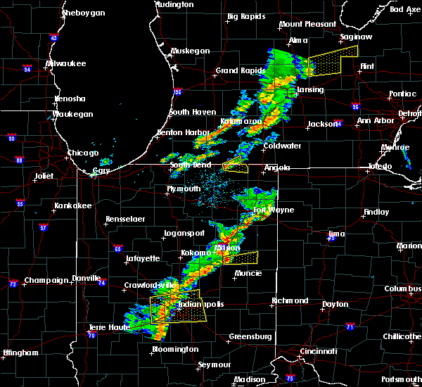 Radar Image for Severe Thunderstorms near Howe, IN at 5/19/2019 6:51 PM EDT