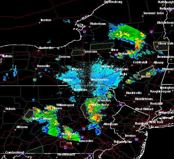 Radar Image for Severe Thunderstorms near Sugar Notch, PA at 5/19/2019 6:56 PM EDT