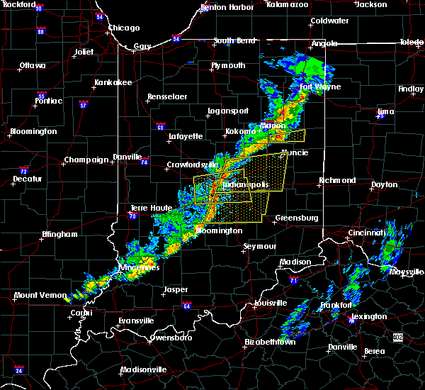 Radar Image for Severe Thunderstorms near Whitestown, IN at 5/19/2019 6:59 PM EDT