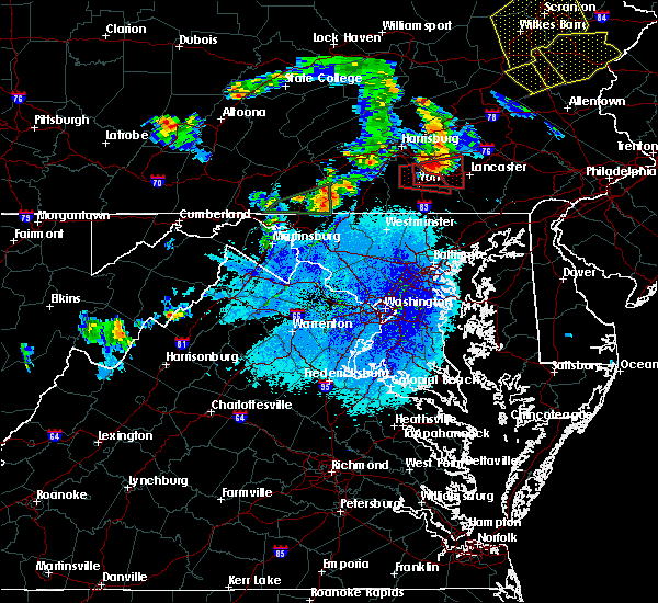 Radar Image for Severe Thunderstorms near Yorkana, PA at 5/19/2019 6:59 PM EDT